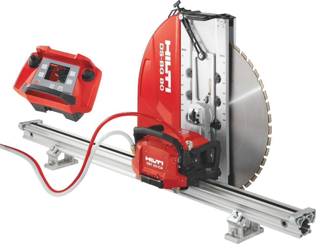 Hilti Electric diamond wall saw with remote control and no electrical box